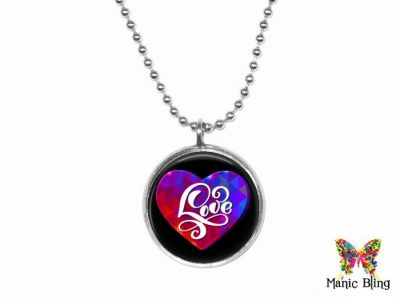 Love Heart Pendant Small
