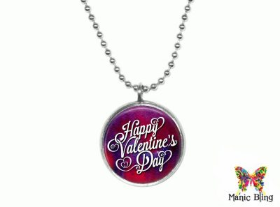 Valentines Day Pendant Small