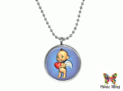 Cupid Pendant Small Small Pendants