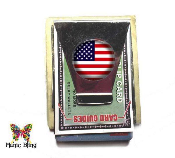 US Flag Money Clip Holidays