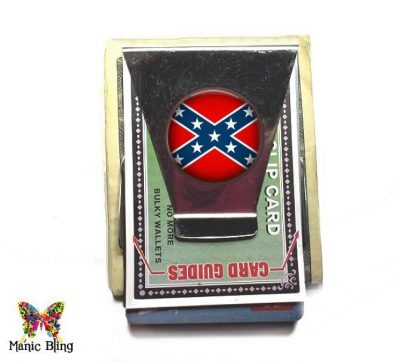 Confederate Flag Money Clip Money Clips