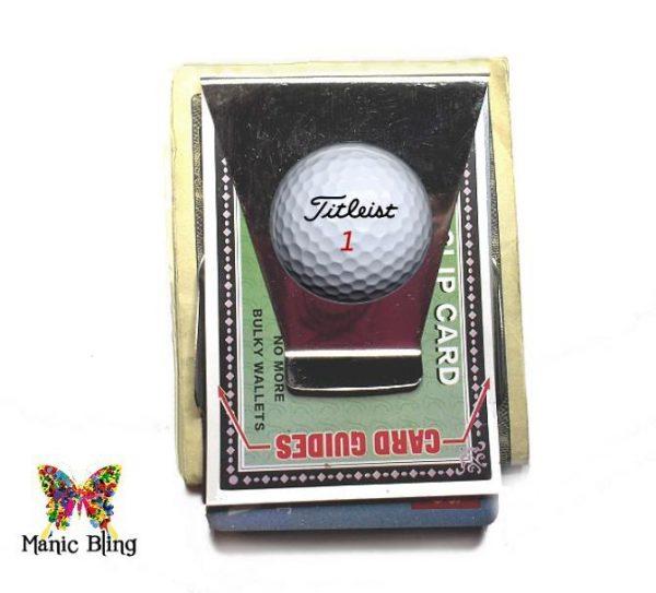 Titleist Golf Ball Money Clip