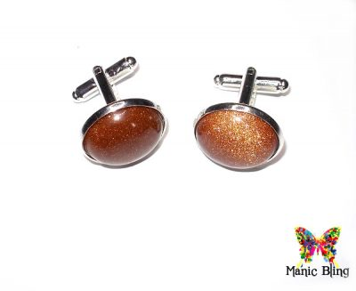 Goldstone Cufflinks
