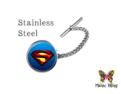 Superman Tie Tack