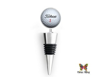 Wine Bottle Stopper Golf Ball