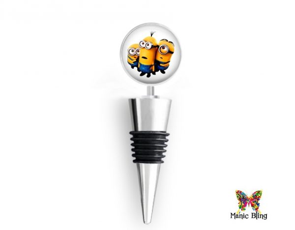 Wine Bottle Stopper Minions