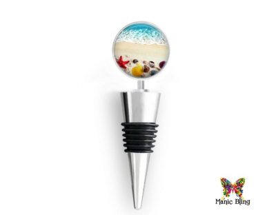 Wine Bottle Stopper Seashore