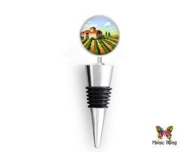Wine Bottle Stopper Winery