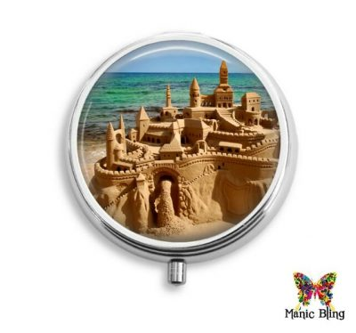 Sand Castle Pill Box Pill Boxes