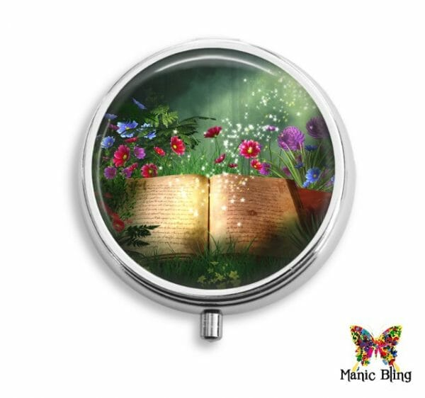 Book Lover Pill Box Pill Boxes