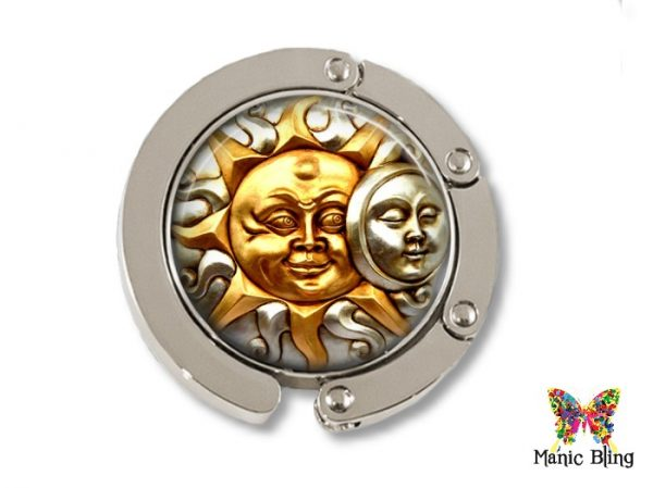Sun Moon Purse Hanger
