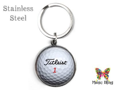 Golf Ball Keyring Men's Keyrings