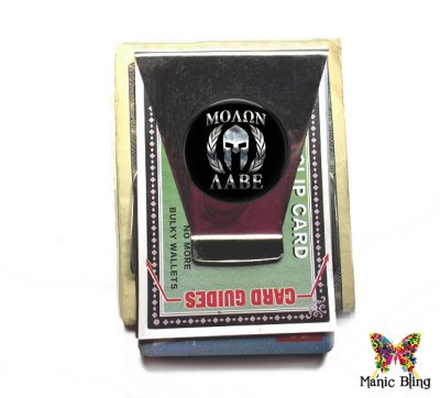 Molon Labe Money Clip Stainless Steel