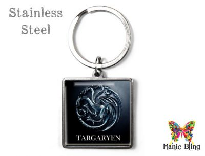 Game of Thrones Targaryen Keyring Men's Keyrings
