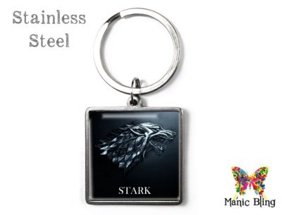Game of Thrones Stark Keyring Men's Keyrings