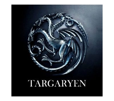 Game of Thrones Targaryen Keyring