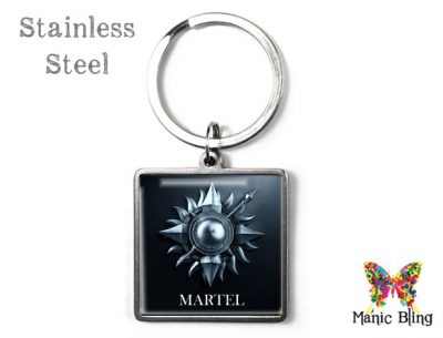 Game of Thrones Martel Keyring Men's Keyrings