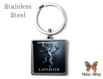 Game of Thrones Lannister Keyring Men's Keyrings