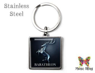 Game of Thrones Baratheon Keyring Men's Keyrings