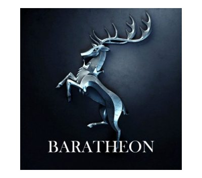Game of Thrones Baratheon Keyring