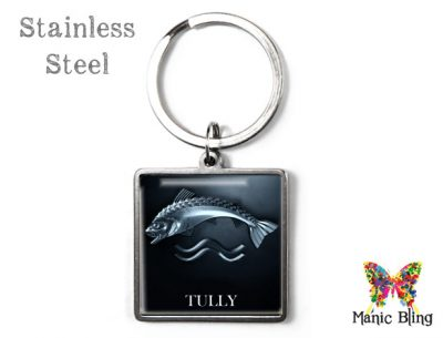 Game of Thrones Tully Keyring Men's Keyrings