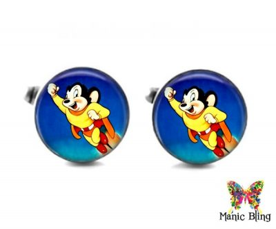 Mighty Mouse Cufflinks Cufflinks & Tie Tacks