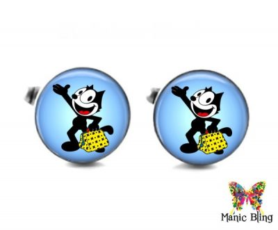 Felix The Cat Cufflinks Cufflinks & Tie Tacks