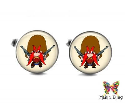 Yosemite Sam Cufflinks Cufflinks & Tie Tacks