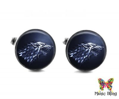 House Of Stark Cufflinks Cufflinks & Tie Tacks