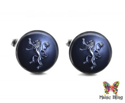 House Of Lannister Cufflinks Cufflinks & Tie Tacks