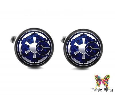 Galactic Empire Cufflinks Cufflinks & Tie Tacks