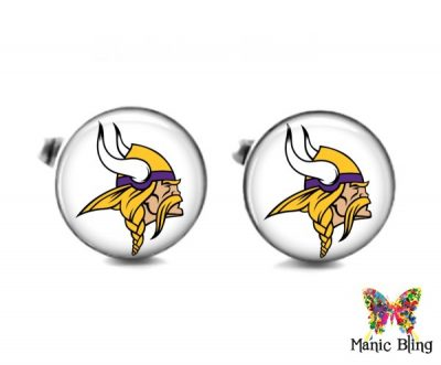 Vikings Cufflinks Cufflinks & Tie Tacks