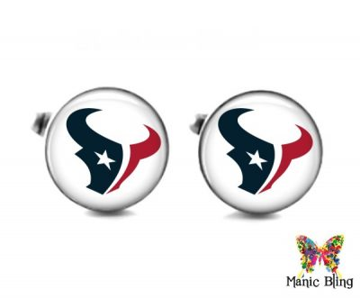 Texans Cufflinks Cufflinks & Tie Tacks