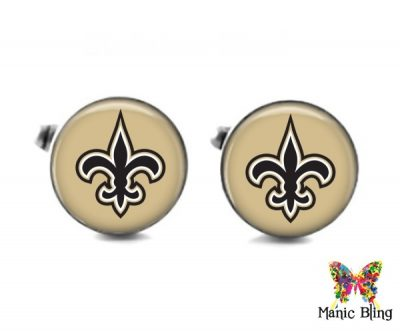 Saints Cufflinks Cufflinks & Tie Tacks
