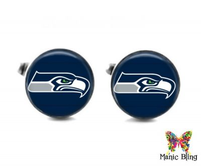Seahawks Cufflinks Cufflinks & Tie Tacks
