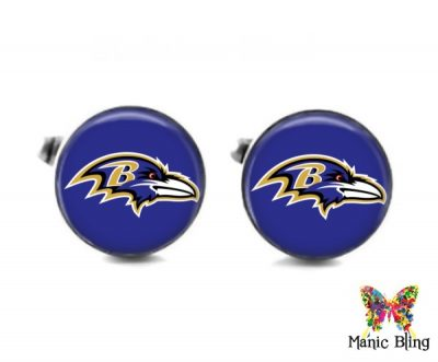 Ravens Cufflinks Cufflinks & Tie Tacks