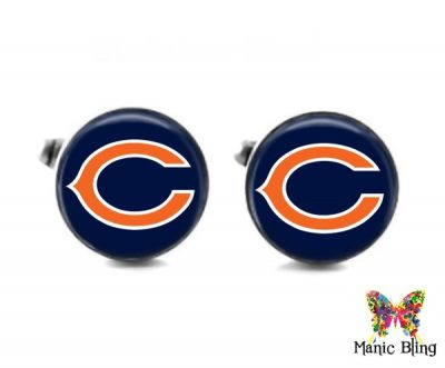 Bears Cufflinks Cufflinks & Tie Tacks