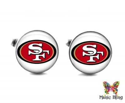 49er Cufflinks Cufflinks & Tie Tacks