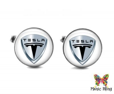 Tesla Cufflinks Cufflinks & Tie Tacks