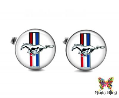 Mustang Cufflinks Cufflinks & Tie Tacks