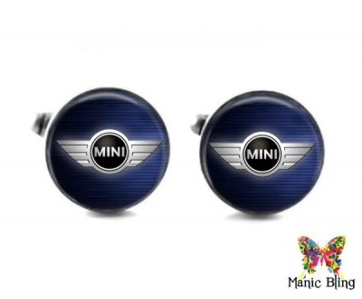 Mini Cooper Cufflinks Cufflinks & Tie Tacks