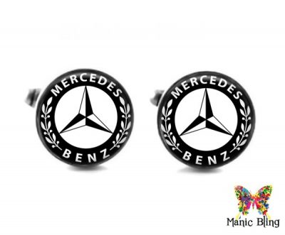 Mercedes Cufflinks Cufflinks & Tie Tacks