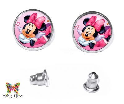 Minnie Mouse Stud Earrings Earrings