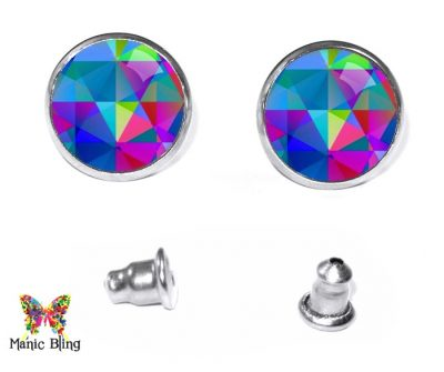 Geometric Stud Earrings Earrings