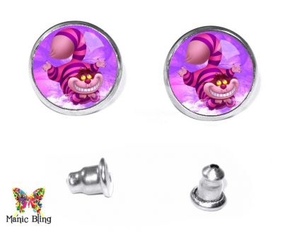 Cheshire Cat Stud Earrings Earrings