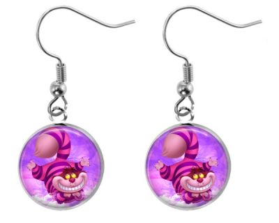 Cheshire Cat Earrings Dangle Earrings