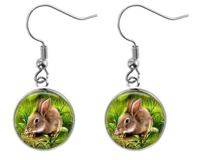 Bunny Earrings Dangle Earrings