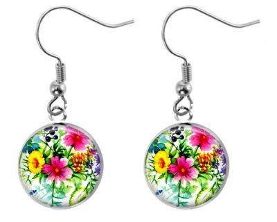 Wildflower Earrings Dangle Earrings