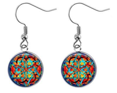 Colorful Geometry Earrings