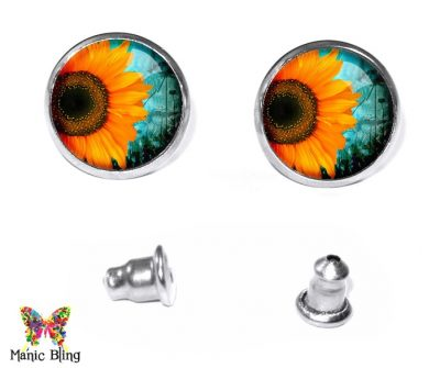 Sunflower Stud Earrings Earrings
